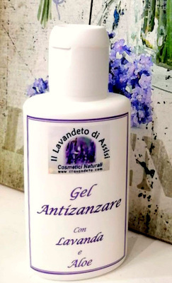 gel antizanzare alla lavanda 100 ml